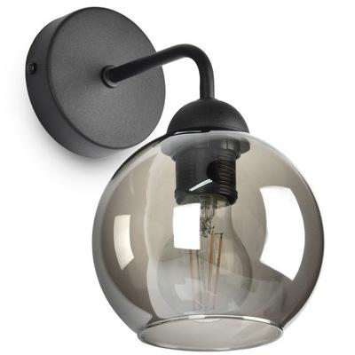 Szklana Lampa Ścienna Kinkiet LED KULA KULE