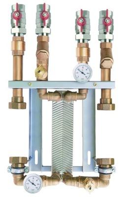 Súprava výmenníka tepla s 30 doskami s izoláciou bez čerpadiel