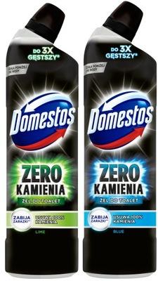 Domestos Zero Blue Lime Гель ??? туалет комплект 2 x 750 мл