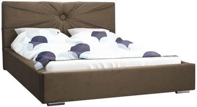 Unikatowe łóżko MALIBU 180x200 cm pojemnik stelaż