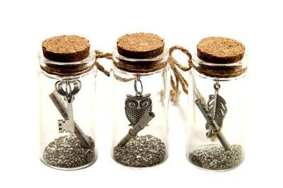 декоративные бутылки подвески