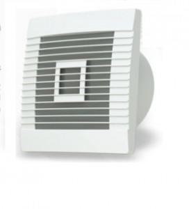 Ventilátor stenu pRestige s żaluzją graw. fi-120
