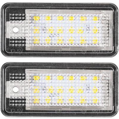 2X ЛАМПОЧКИ LED (СВЕТОДИОД ) ПОДСВЕТКА AUDI A3 A4 B6 B7 A5 A6
