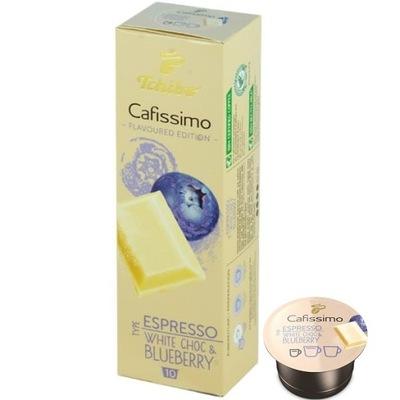капсулы Tchibo Cafissimo белая Шоколад-Голубика