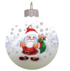 Традиционная стекло  новогоднее представление - 6081