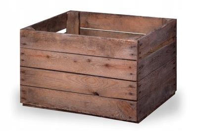 Skrzynki drewniane skrzynka drewniana dekoracyjna