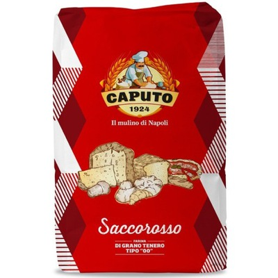 Пшеничная мука 00 Saccorosso красная 25kg Капуто