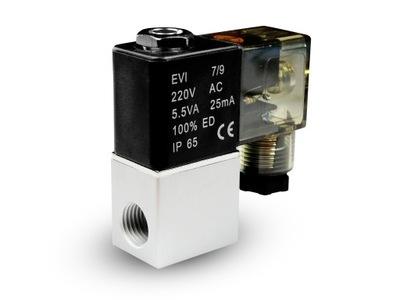 Электроклапан воздуха СО2 2V08 1 /4 230 24V 12V