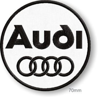 NASZYWKA termo NASZYWKI - Audi haft 70mm Tuning