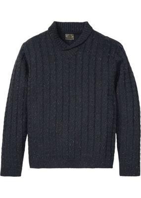 ZC11 BPC Sweter z szalowym kołnierzem r.48/50
