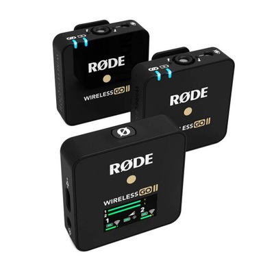 RODE Wireless GO II 2-kanałowy cyfrowy system bezp