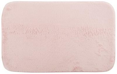 Dywanik Łazienkowy pluszowy miękki 50x80 cm Różowy