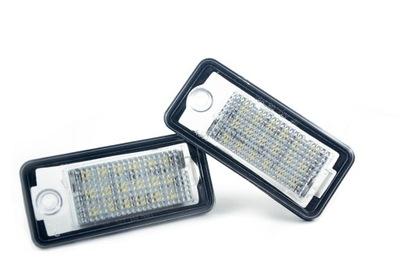 LED (СВЕТОДИОД ) ПОДСВЕТКА НОМЕРА AUDI A3 A4 A6 A8 Q7