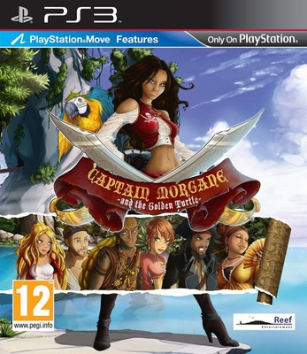 Captain Morgane And The Golden Turtle Ps3 8093920183 Oficjalne Archiwum Allegro