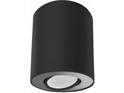 Spot tuba SET BLACK/SILVER czarna 8902 Nowodvorski