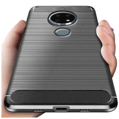 Etui CARBON do Nokia 6.2 / Nokia 7.2 Pancerne Case