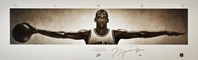 Jordan WINGS Nike Exclusive XL PREMIUM !! Płótno !