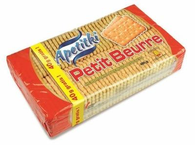 Apetitki Печенье Petit хорошим свежим маслом 360г+40г (400 г)