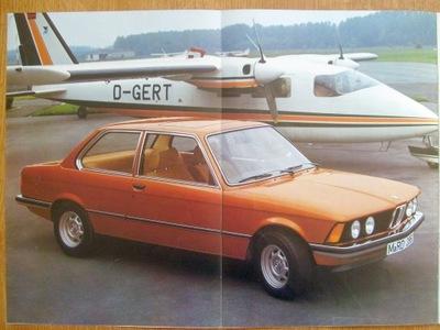 BMW СЕРИЯ 3 E21 / 316 318 320 320I / 1976 *32 STR.