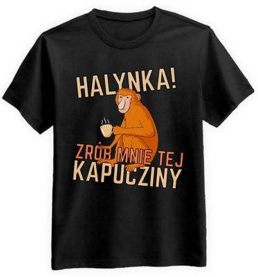 Koszulka Janusz Nosacz Halynka Kapucziny! Czarna