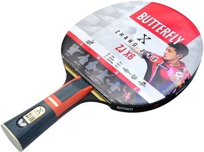 Rakietka Butterfly Zhang Jike+piłki *Wwa