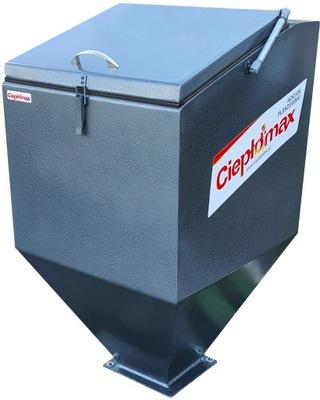 Nádrž na rúru 25kW 2mm ekologické hrachové uhlie