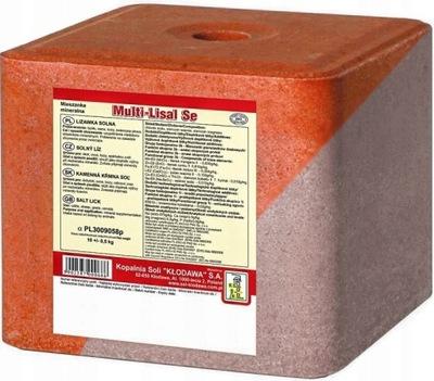LIZAWKA Соляная MILTI LISAL SE соль - красная 10 кг