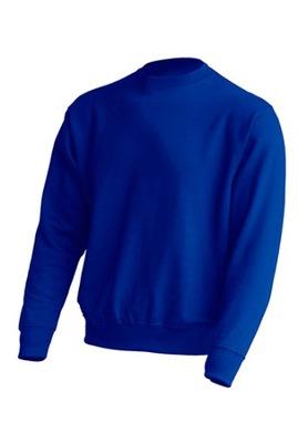 Bluza Męska niebieska bez nadruku L