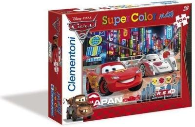 Puzzle Maxi 104 elementów Auta Cars Clementoni