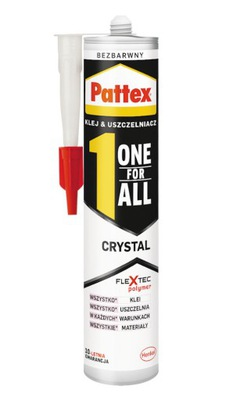 Klej Montażowy Pattex One For All Crystal 290g