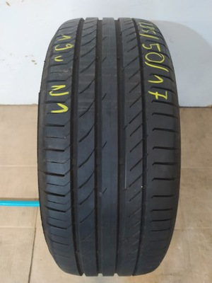 1x 235/50 R17 96W Continental Sport Contact 5 19r