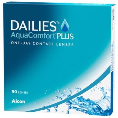 Soczewki jednodniowe Dailies Aqua Comfort PLUS 90