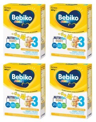 Bebiko 3 Mleko o smaku waniliowym 4 x 800 g
