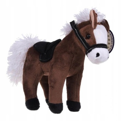 Maskotka Pluszowy Koń z głosem 22 cm konik pluszak