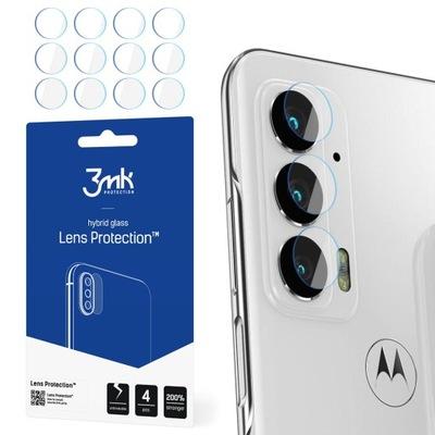 4x Szkło 3mk na tył obiektywu do Motorola Edge 20
