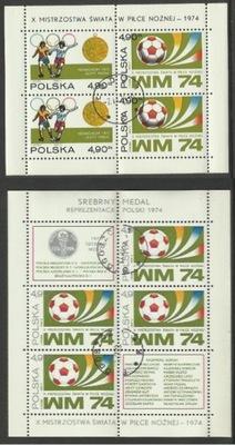 Fi, БЛОК 93 + 94 /48 , 49 / X МС по футболу 1974