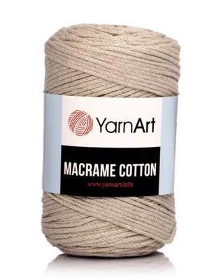 YarnArt MACRAME COTTON - NR 753 BEŻ