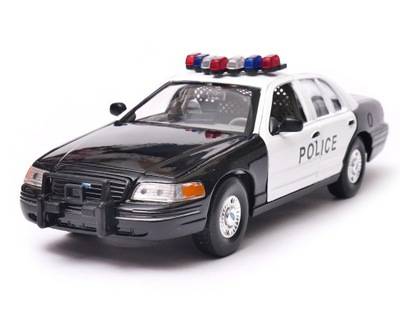 Ford Crown Victoria Highway Police 1:24 Welly