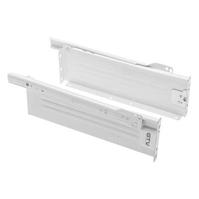 Metalbox prestige, biały, L-500mm, H-150mm