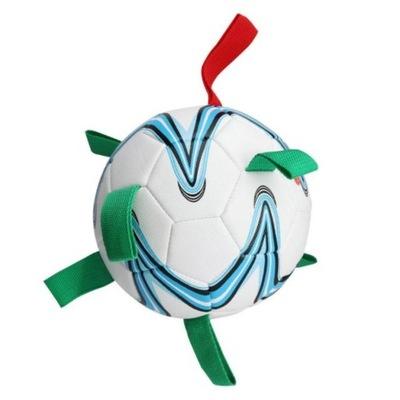 Zabawka dla psa PIŁKA football duża XXL pływająca