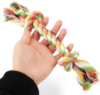 Хлопковый шнурок  Игрушка для Собаки S 22см