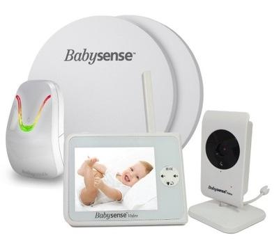 Elektroniczna niania Babysense Video V35 + monitor