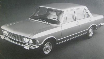 FIAT 130 3200 1973 / БОЛЬШОЙ FORMAT / RZADKOSC !!!