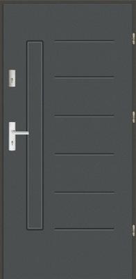 двери ламинированные Полное 72мм 90 Л +P
