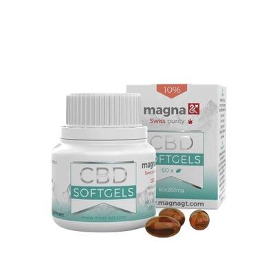 Magna Olej konopny CBD 10% w kapsułkach 60 sztuk