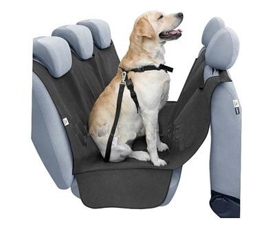 Универсальная коврик ЧЕХОЛ для собаки на диван РЕМНИ