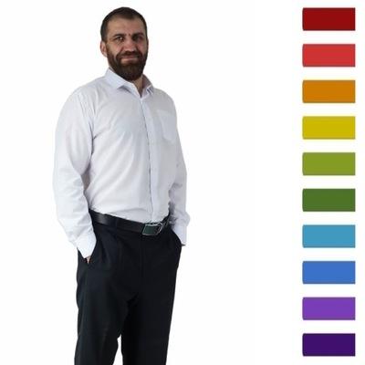 Koszula męska elegancka BAWEŁNA wybór koloru 39/40