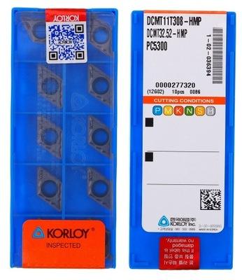 PŁYTKI WĘGLIKOWE DCMT 11T308 HMP PC5300 KORLOY
