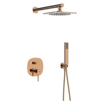 Podomietková sprchová sada POLLA zlatá BAP_801P