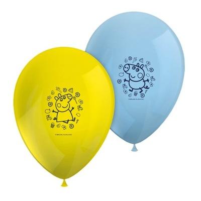 Воздушные шары Instagram день Рождения Peppa Pig -8 штук